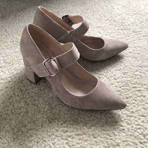 Tan Tommy Hilfiger Chunky Heels